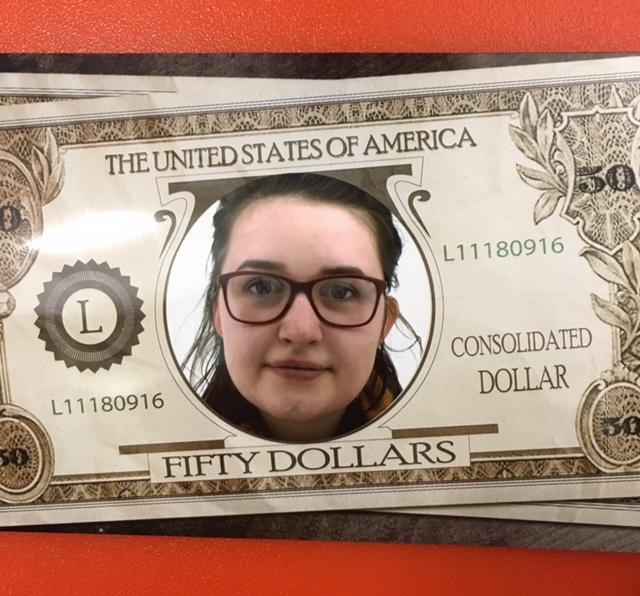face on a dollar