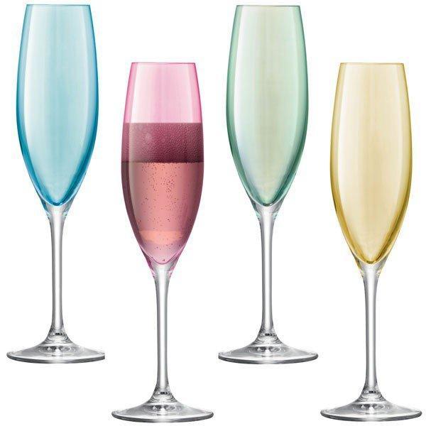LSA champagne flutes
