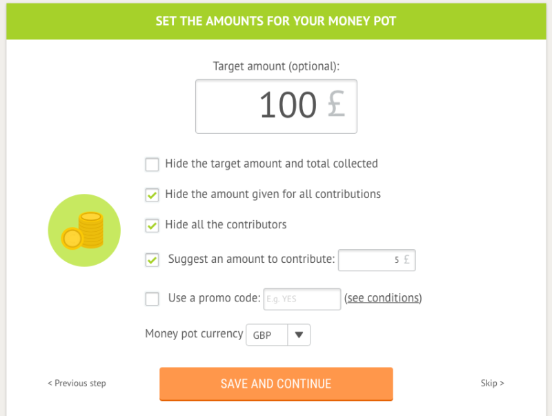 Leetchi money collection online