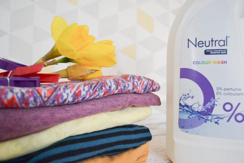 Neutral 0% washing liquid sensitive skin