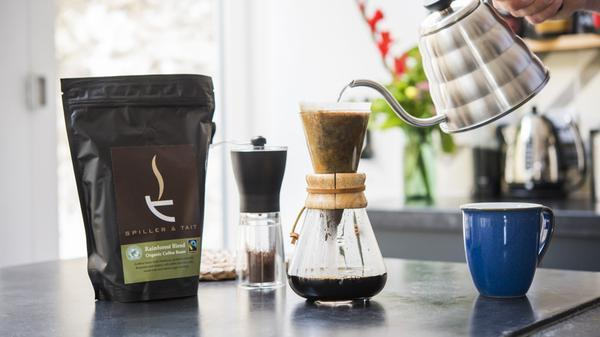 win coffee spiller and tait