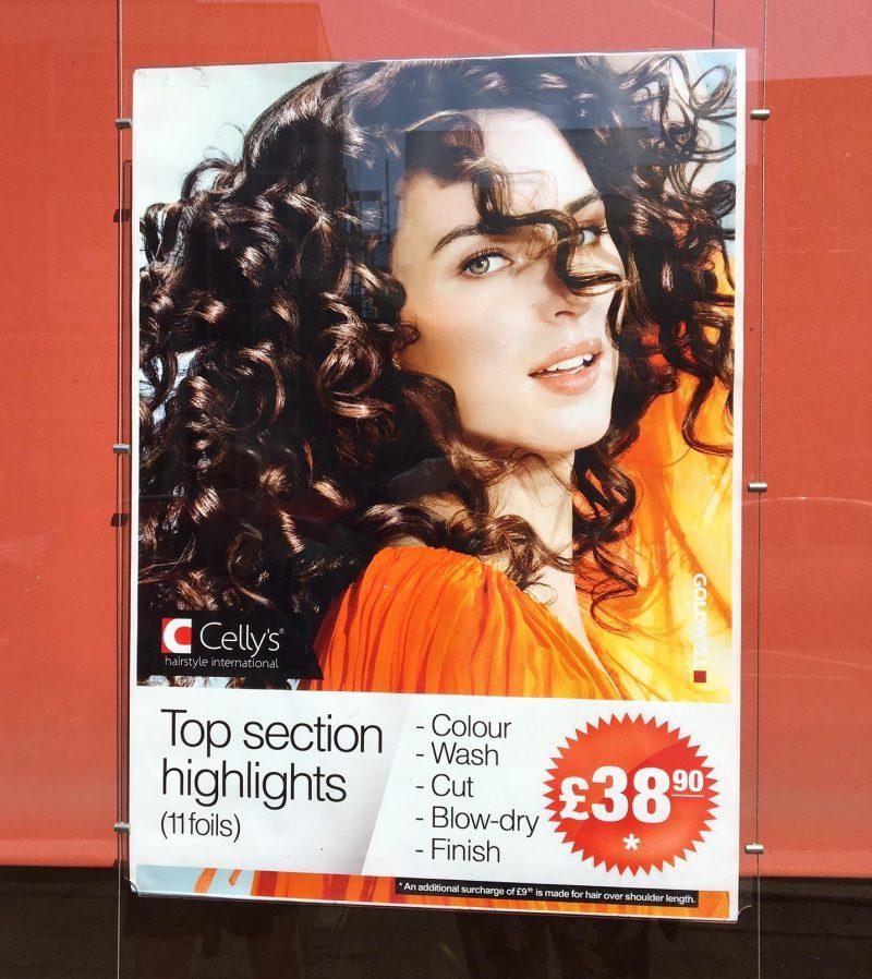 £11 hairdresser