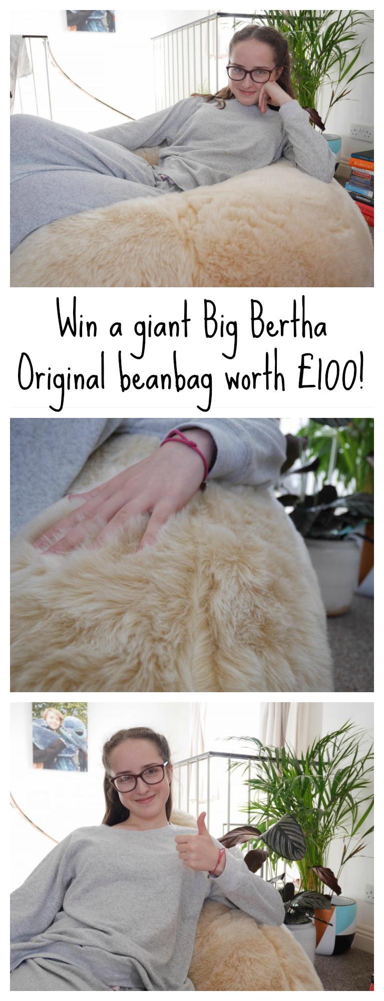 Big Bertha Original giant beanbag