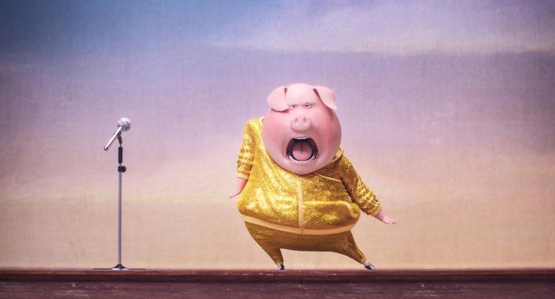 Sing movie snacks Piggy Power Popcorn