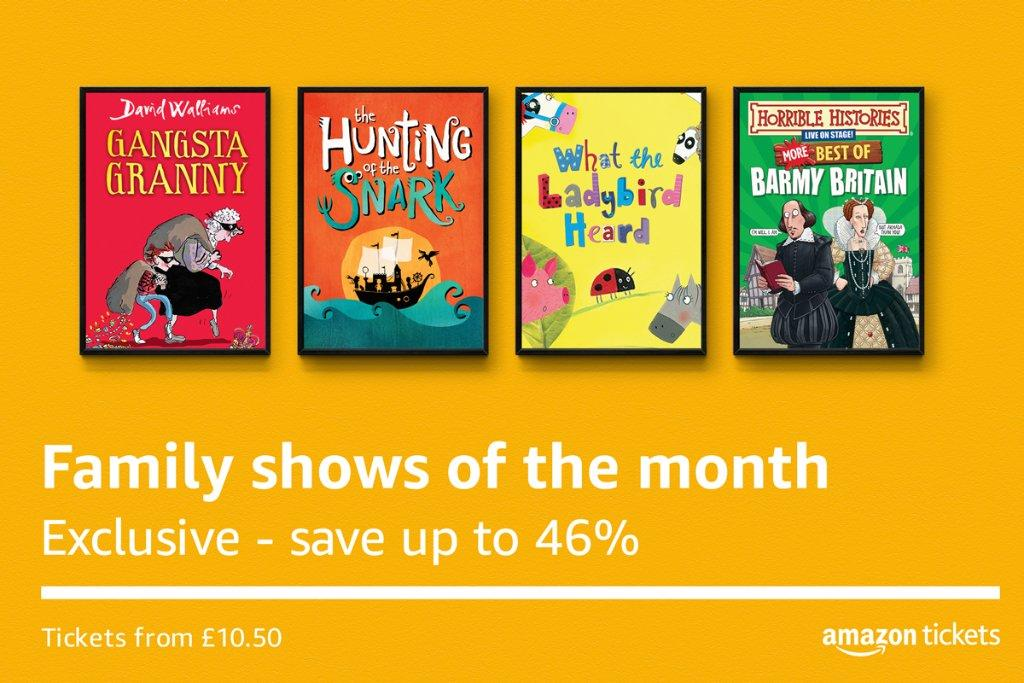 Get discounts on family shows and more with Amazon Tickets ...