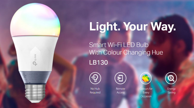 TP-Link smart bulb colour changing