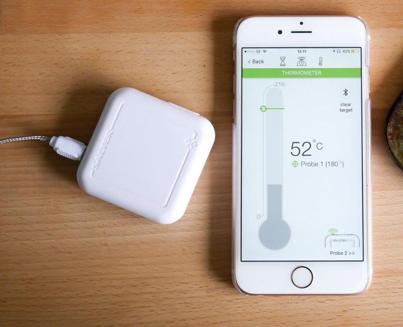Salter Cook bluetooth thermometer review