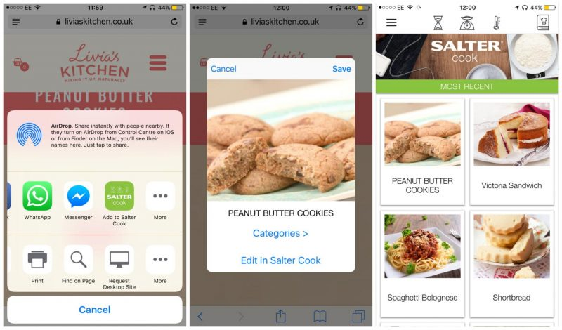 Salter Cook app review