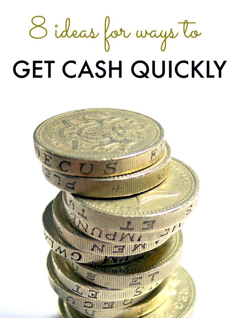 ways to get cash quickly