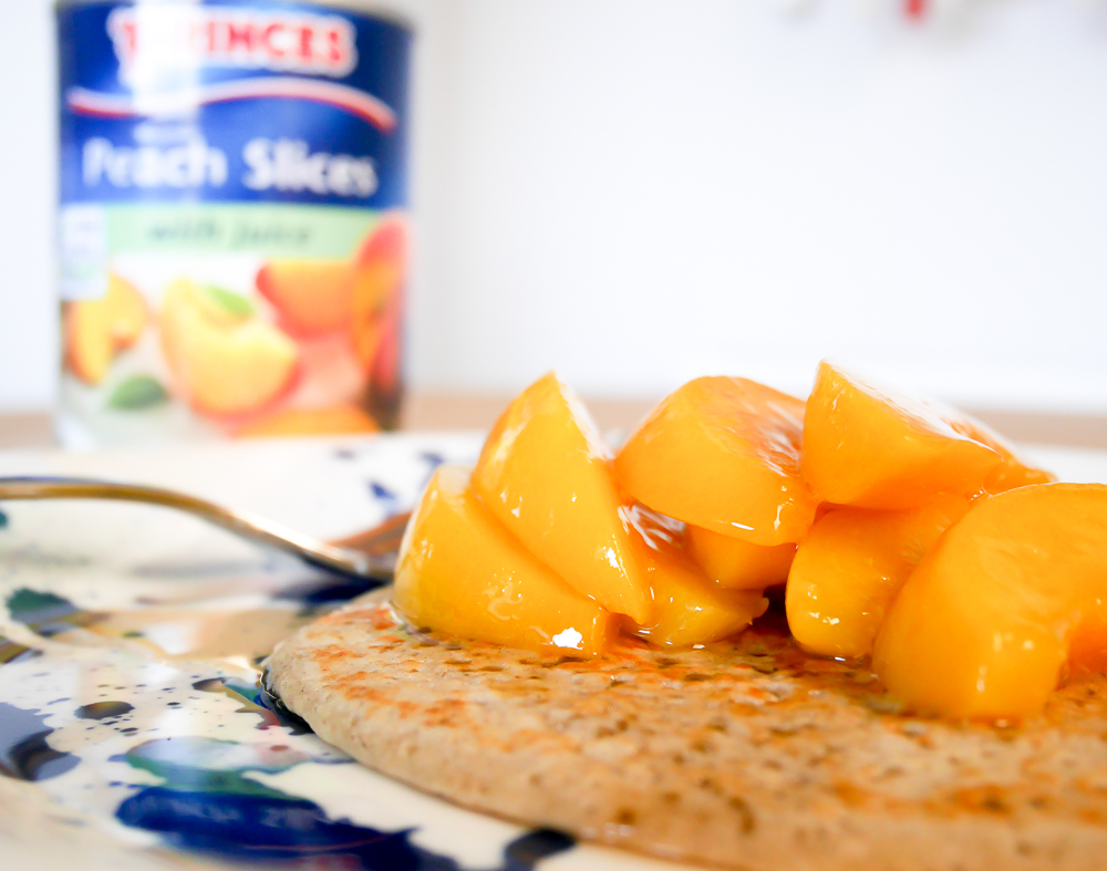 tinned peach recipe
