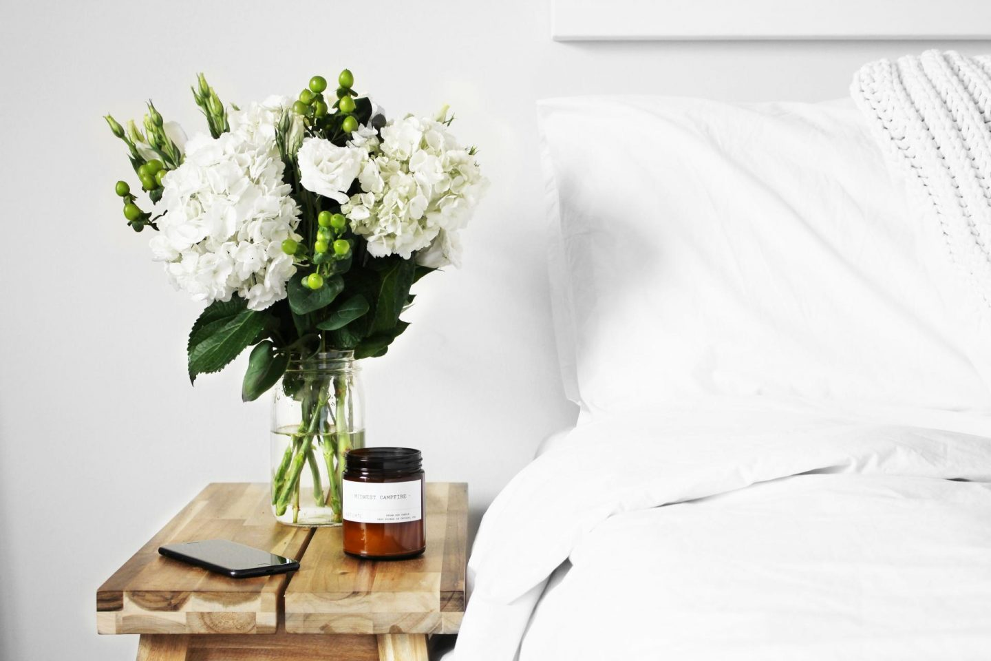 white bedroom makeover tips