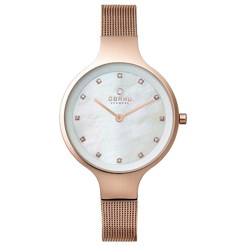 Sky Rose watch Obaku