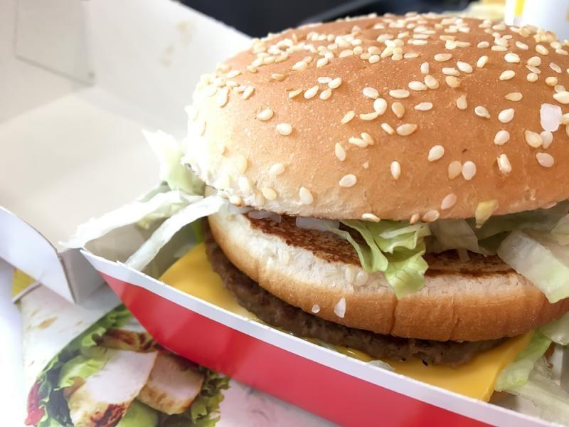 Big Mac close up
