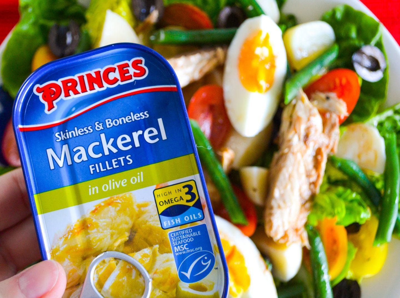Princes mackerel in olive oil