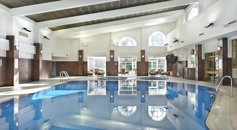 Indoor pool at The Belfry Spa