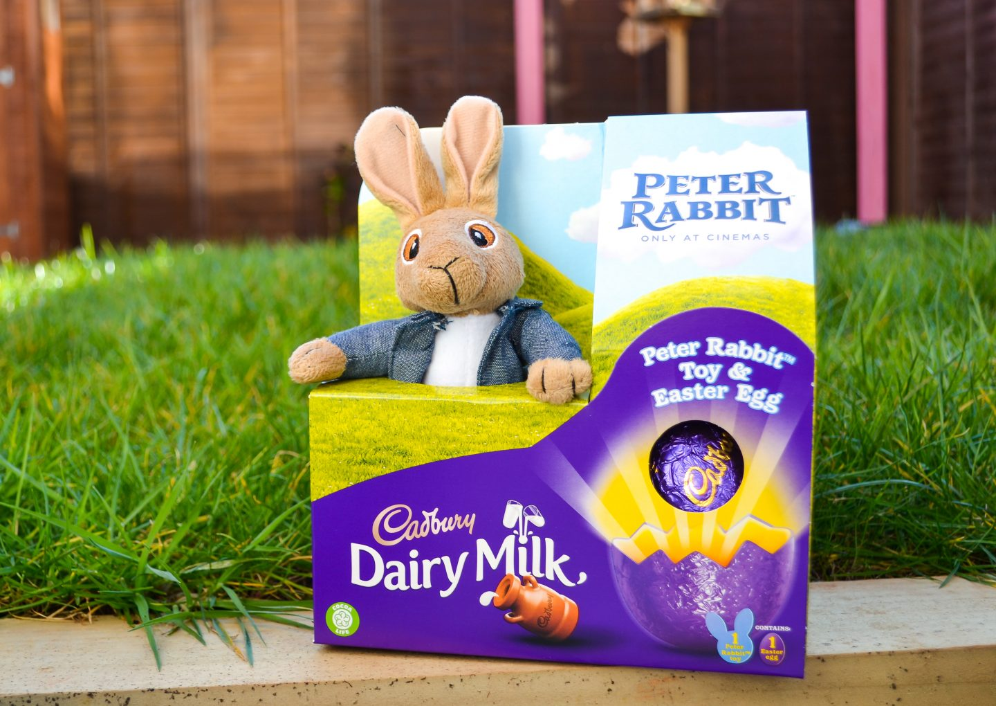 Cadbury Peter Rabbit easter egg