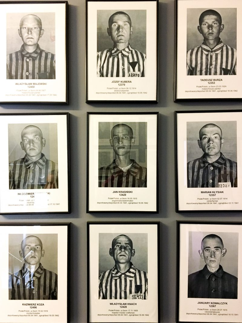 Auschwitz prisoner photographs