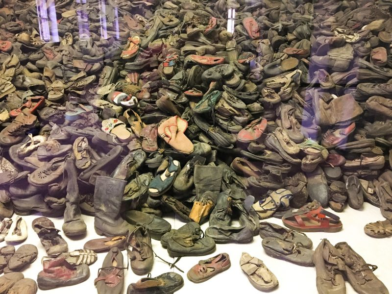 Auschwitz shoes
