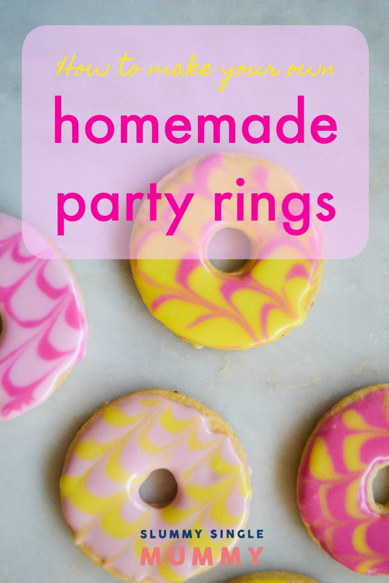 how to make homemade party rings recipe