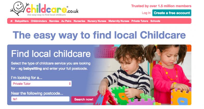 find a babysitter online