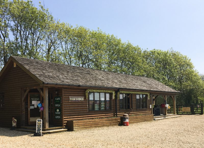 Oakdown camping cafe Oak Mead