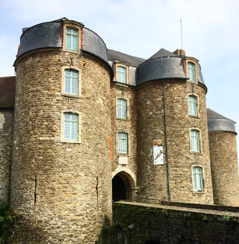 Boulogne old town castle