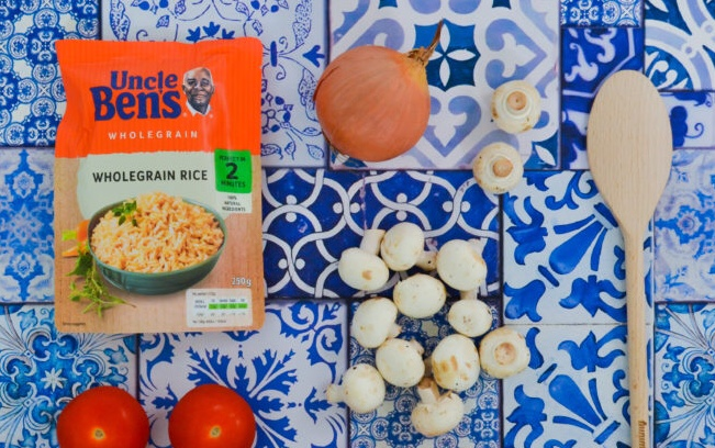 Uncle Ben's rice recipe