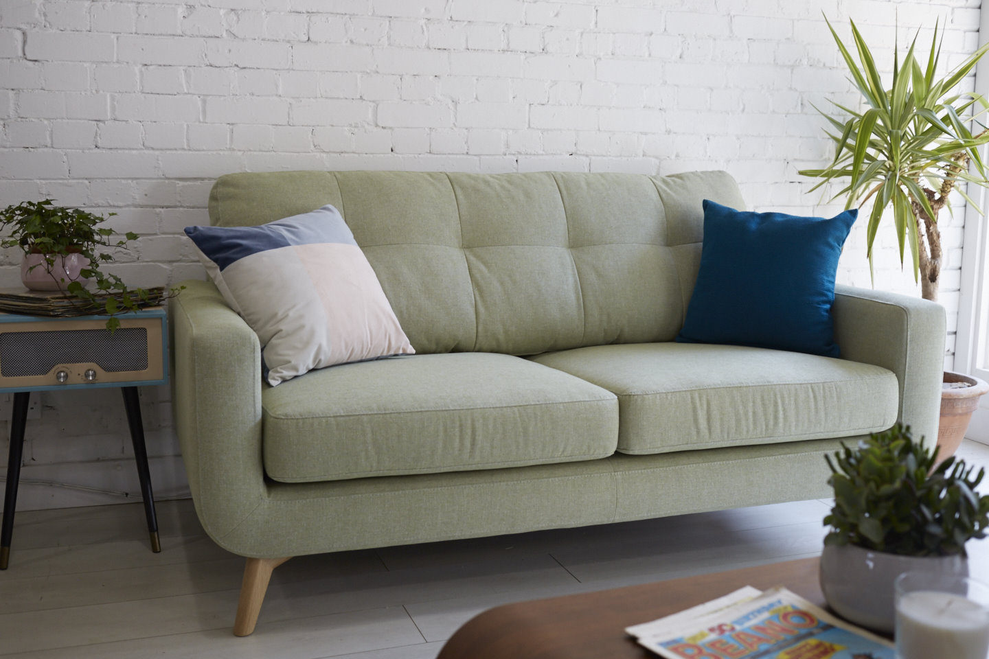 John Lewis Barbican Sofa in Apple