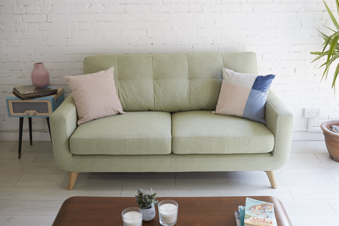 John Lewis Barbican Sofa in Apple 2
