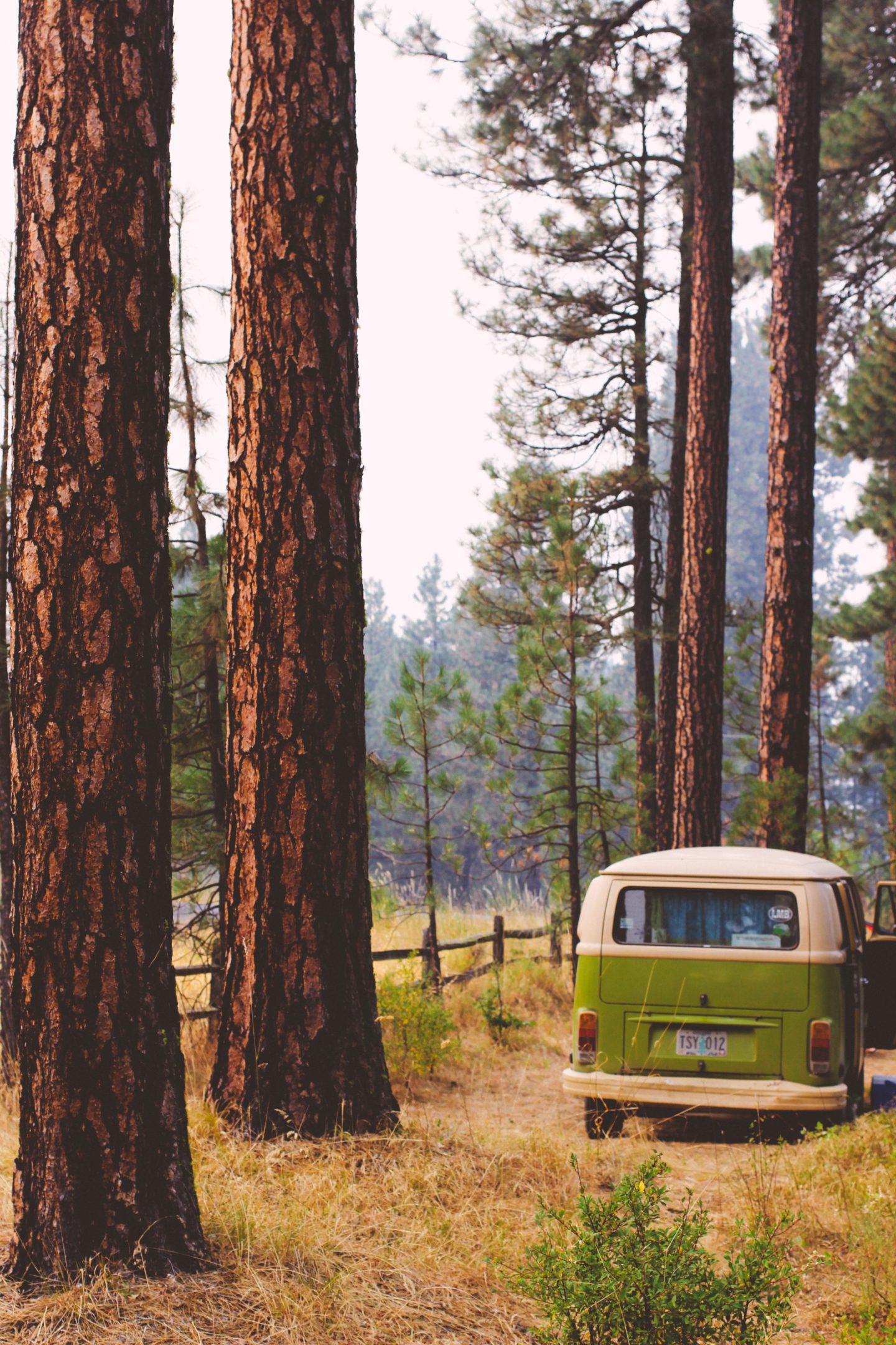 vintage vw camper