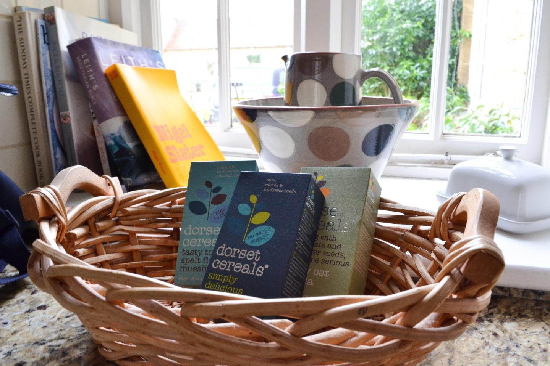 Bruern cottages welcome basket