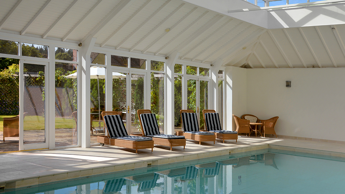 Bruern cottages pool review