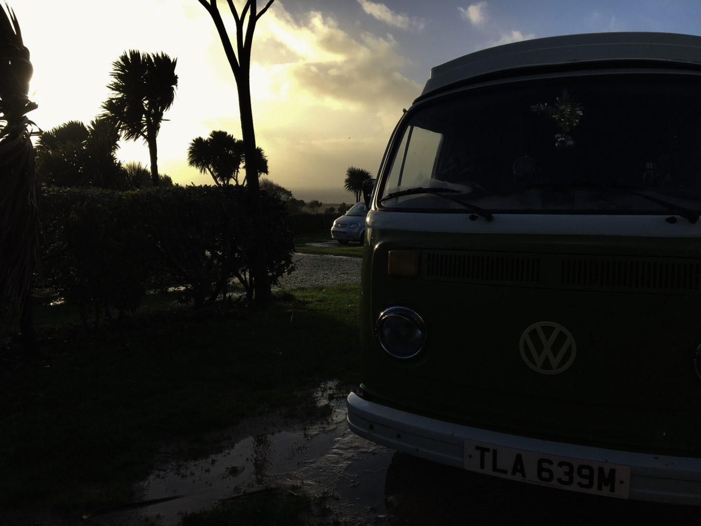 vintage campervan hire Cornwall