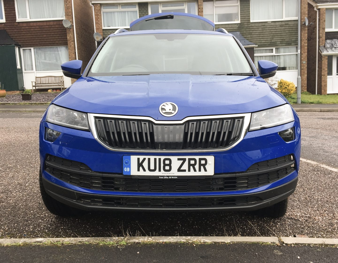 Skoda Karoq review front profile