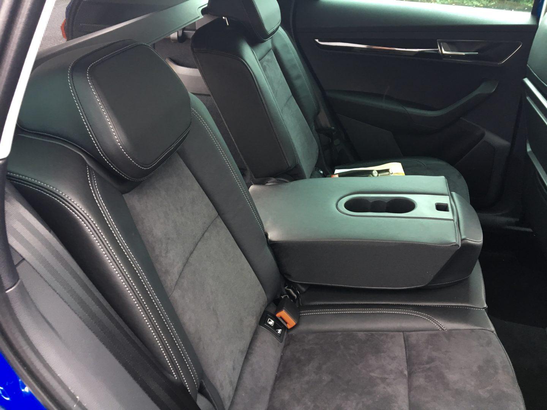 Skoda Karoq review back seats