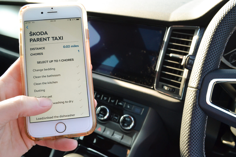 Skoda Parent Taxi App review