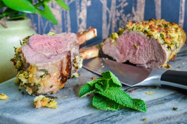 Easter rack of lamb recipe