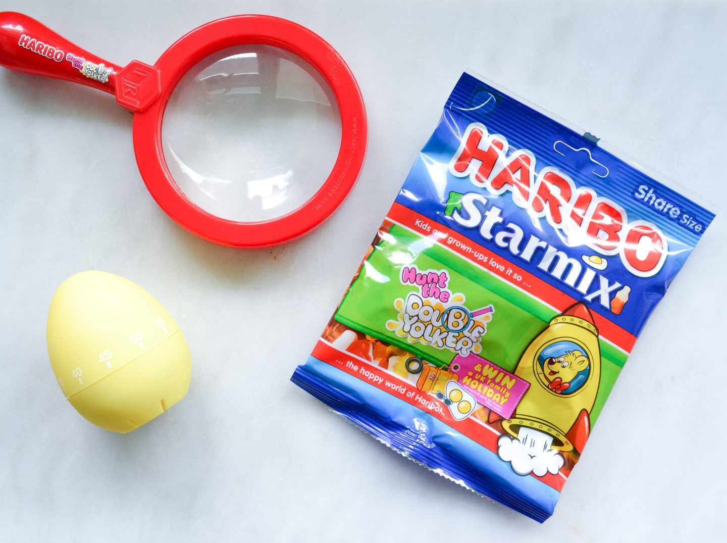 Haribo double yolker competition