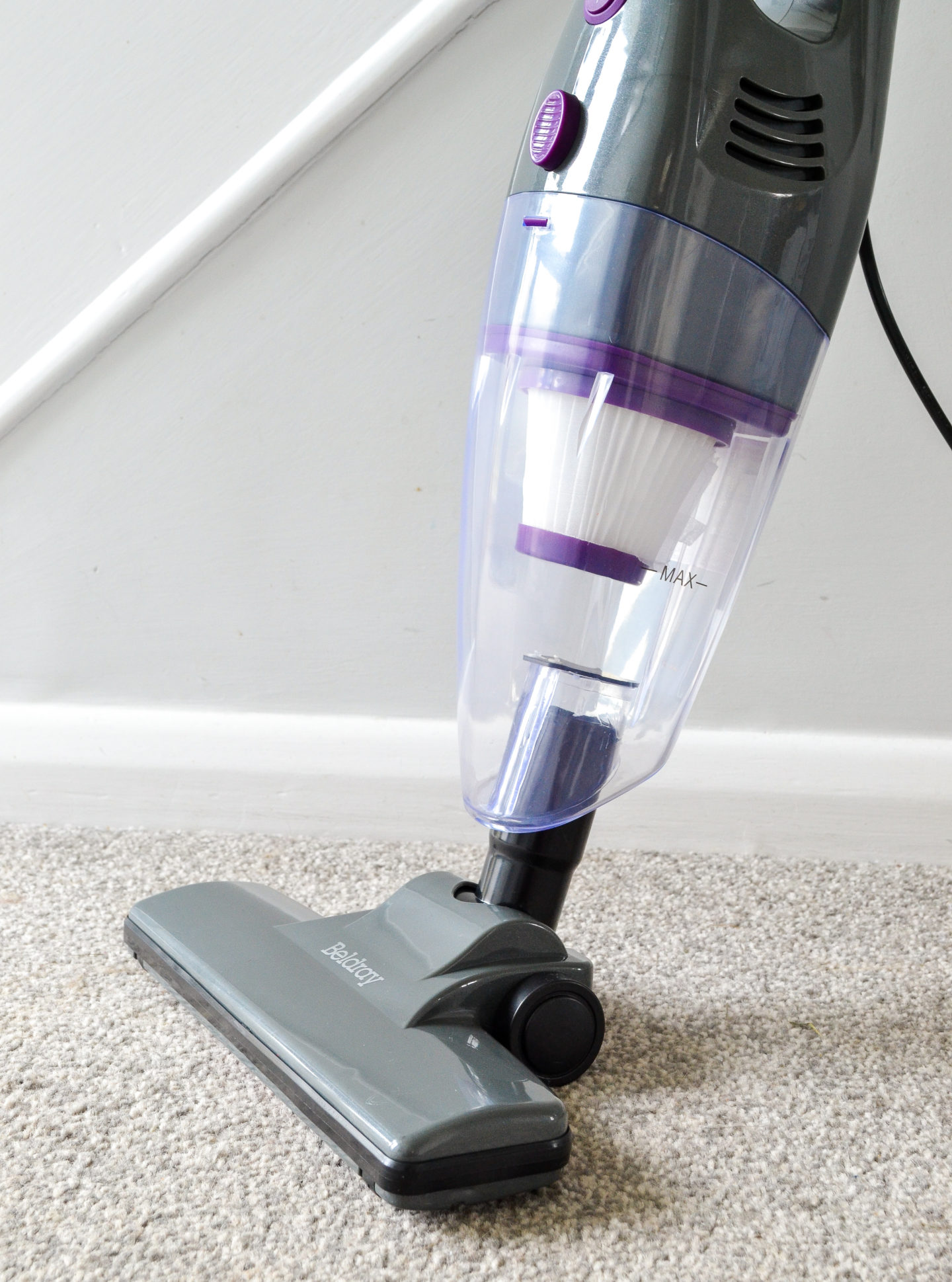 Beldray 2 in 1 stick vacuum cleaner review