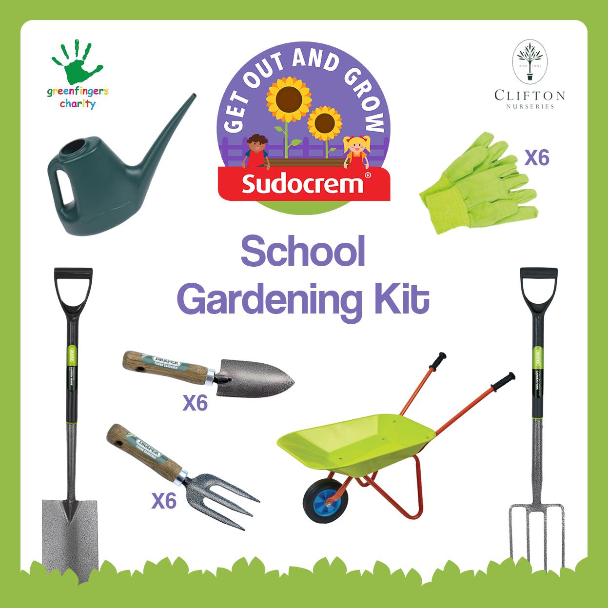 school gardening kit