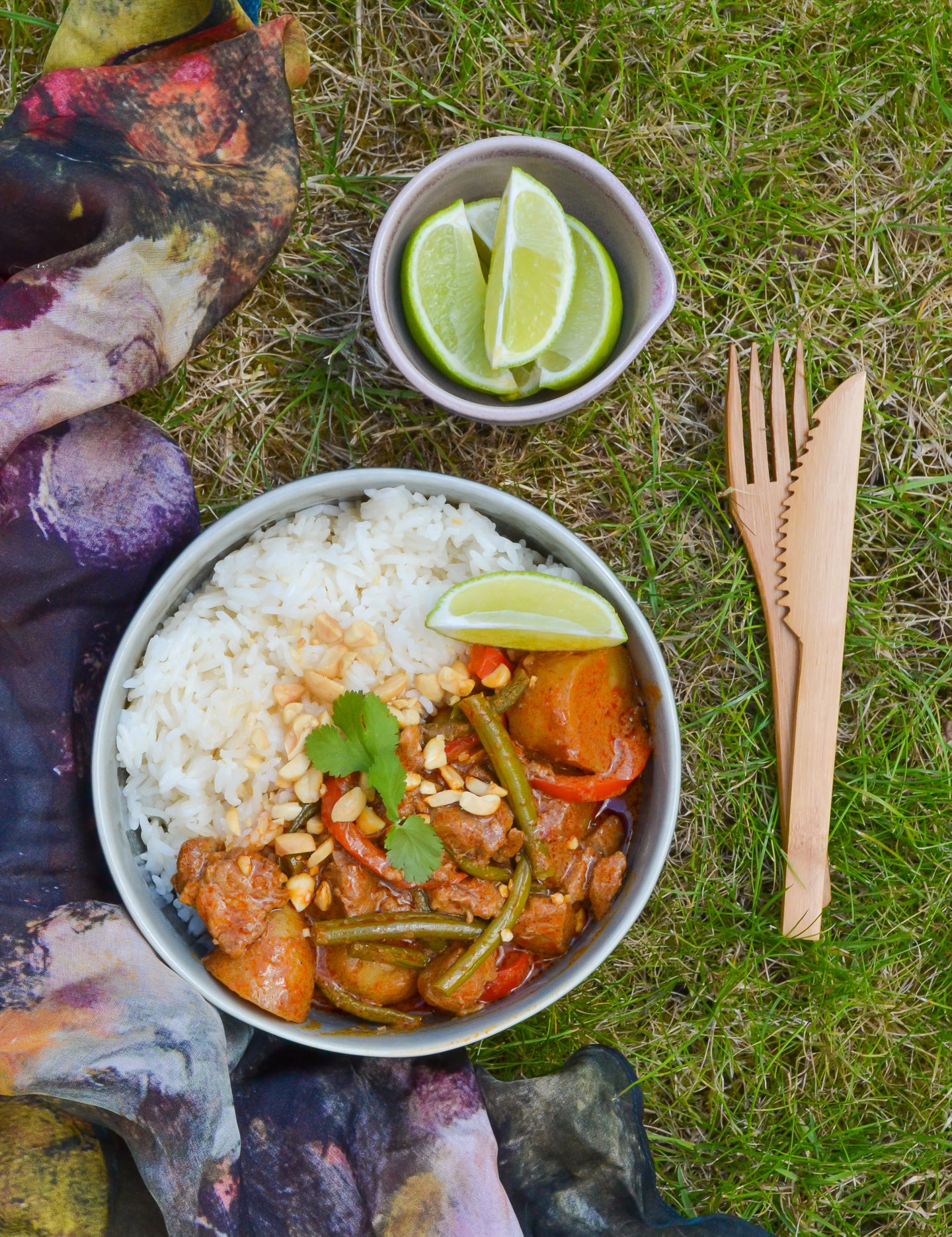 Thai massaman lamb curry recipe