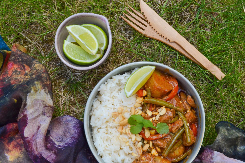 Thai massamn lamb curry