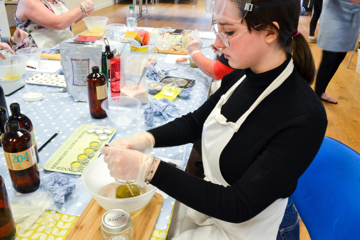 Make your own skincare workshops