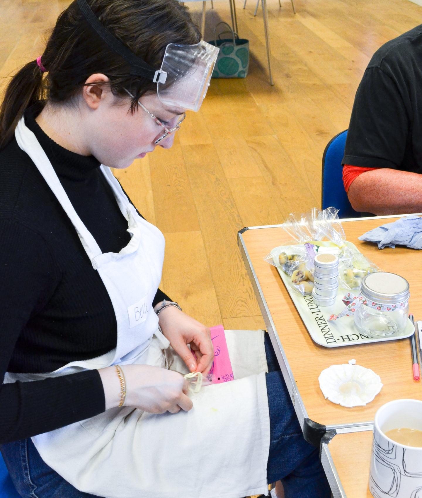 Skincare making workshop Somerset