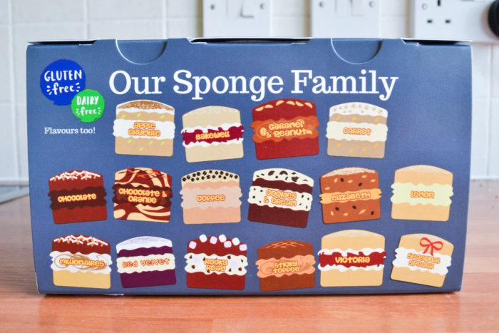 Gluten free sponges from Sponge