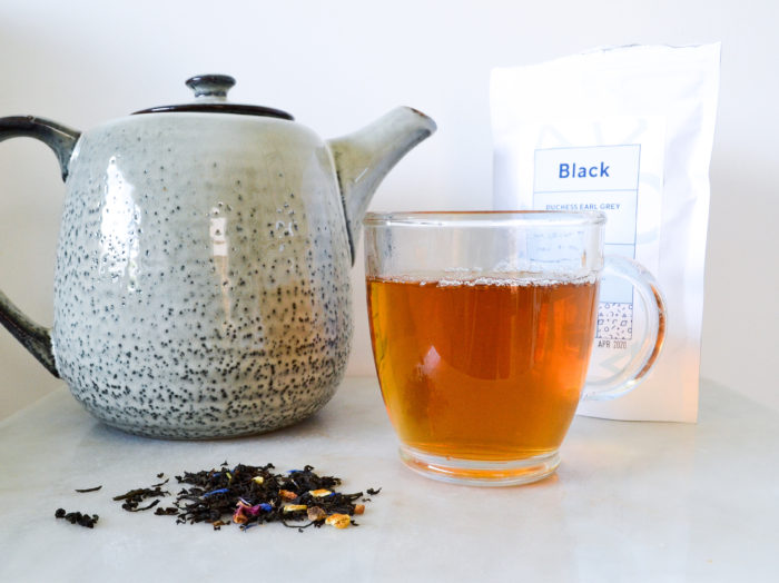 Win tea from Blue Tea Box