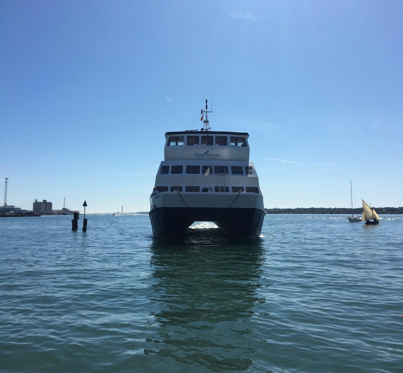 Southampton Boat Show mini cruise