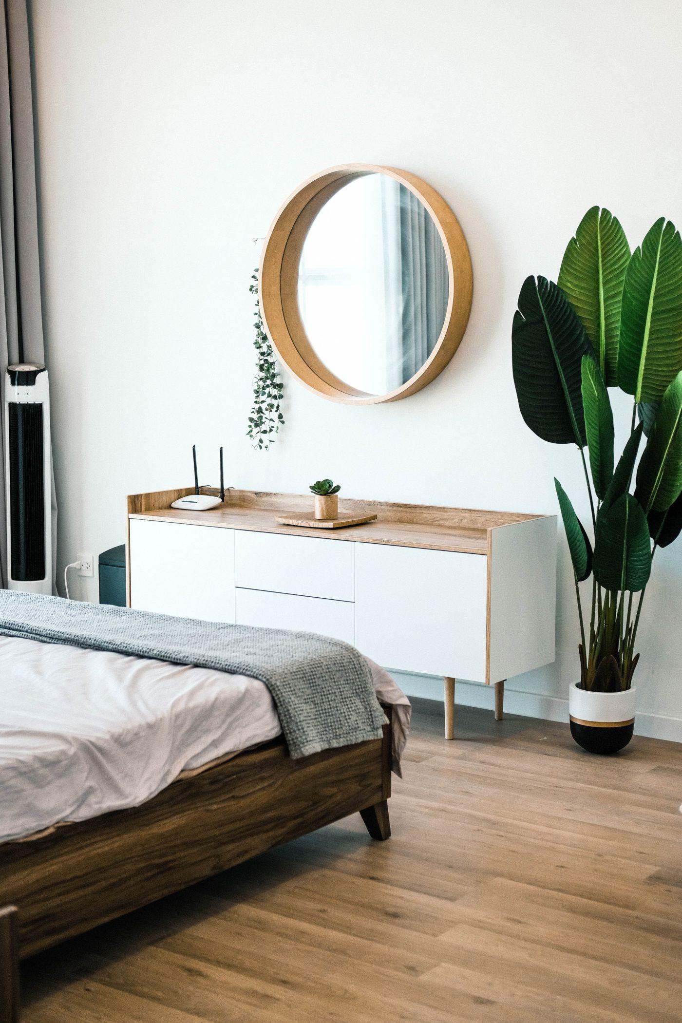 bedroom design natural materials