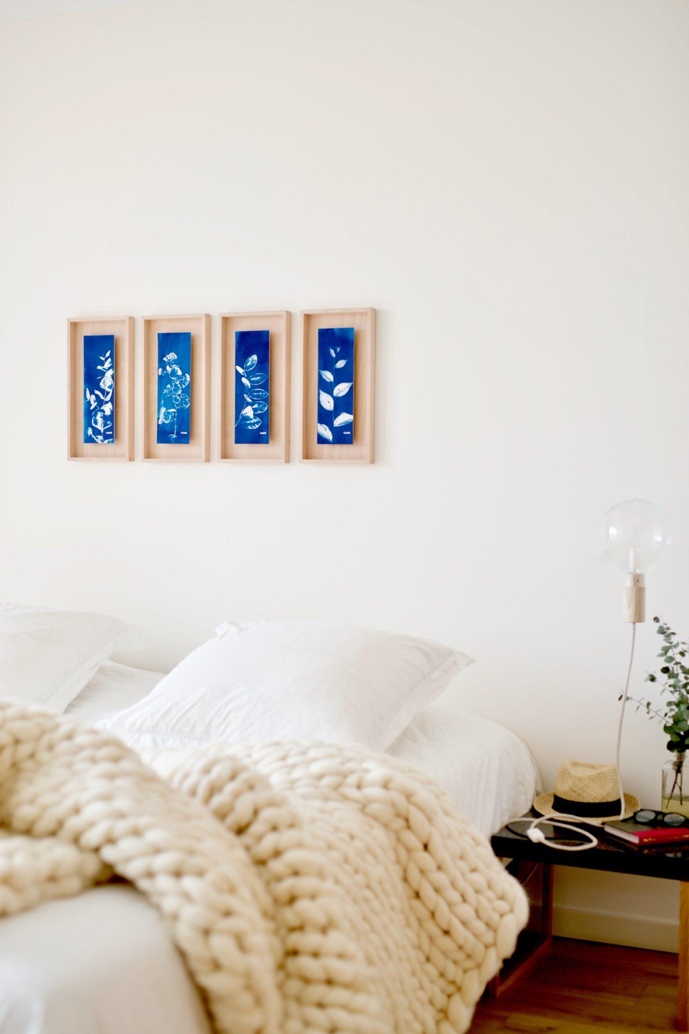 natural materials bedroom