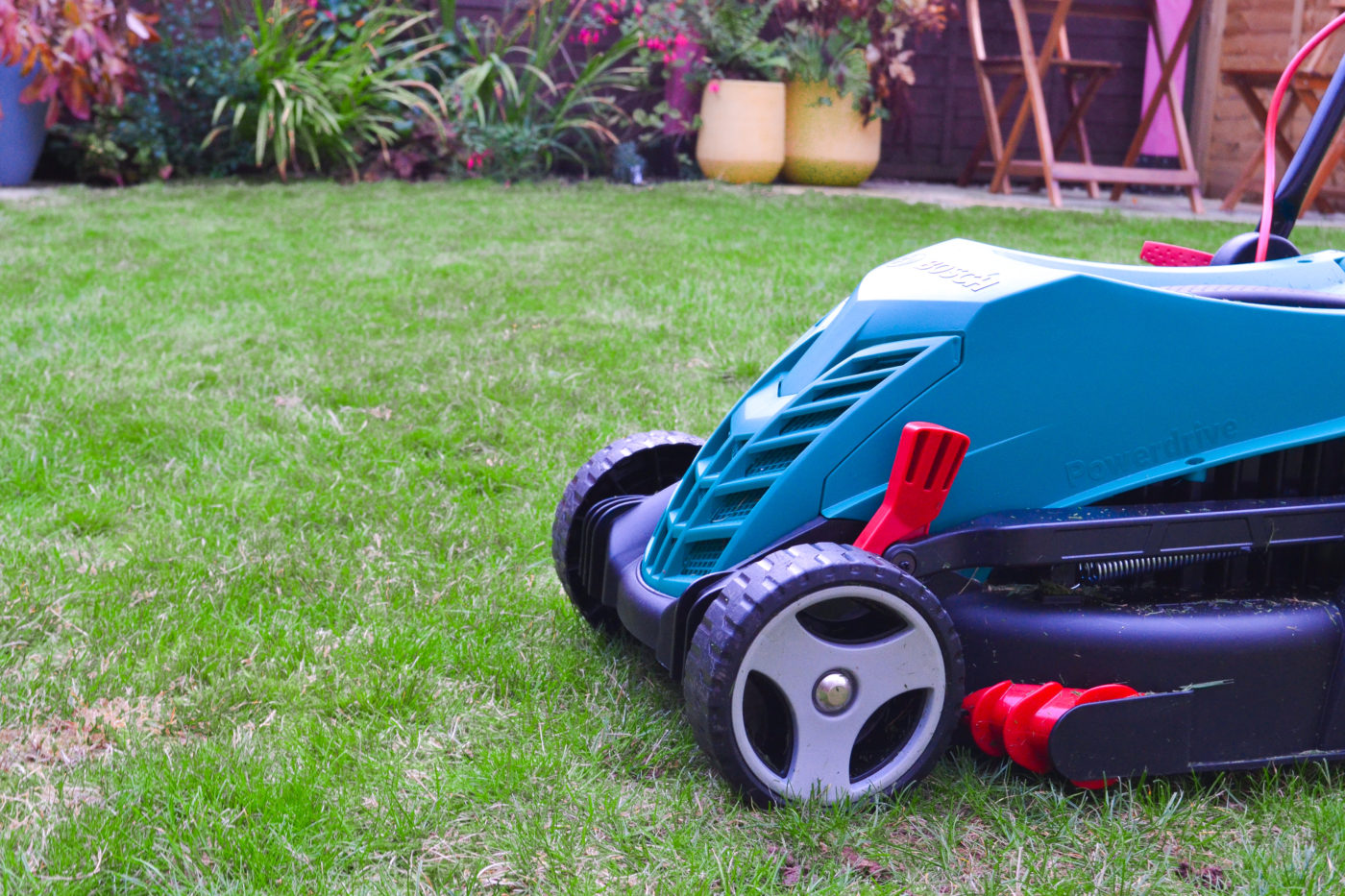 Bosch lawnmower review